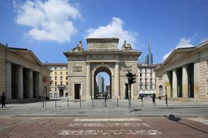 Porta Garibaldi, Milan, Lombardy, Italy, Europe by Vincenzo Lombardo