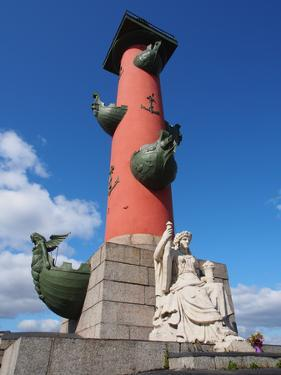 Rostral Column, St. Petersburg, Russia, Europe by Vincenzo Lombardo