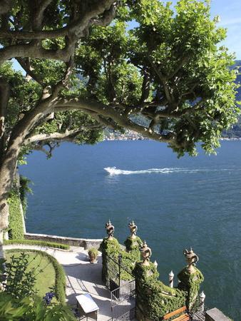 View From Villa Balbianello, Lenno, Lake Como, Lombardy, Italy, Europe