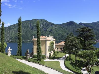 Villa Balbianello, Lenno, Lake Como, Lombardy, Italy, Europe