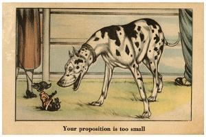 Your Proposition Is Too Small by Vincenzo Zito