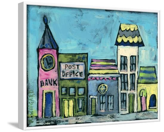 Vine Street-Pamela J. Wingard-Framed Art Print