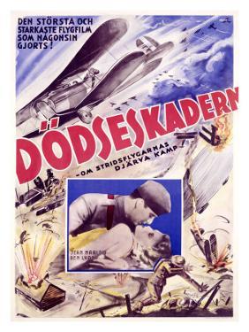 Vintage 1927 Hell's Angels Movie Poster