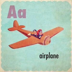 Vintage ABC- A