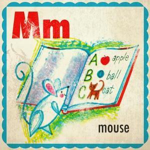 Vintage ABC- M