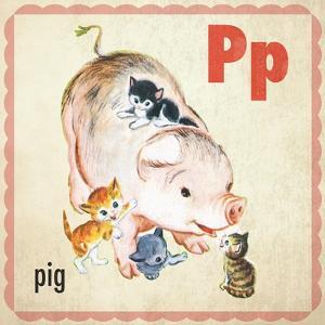 Vintage ABC- P