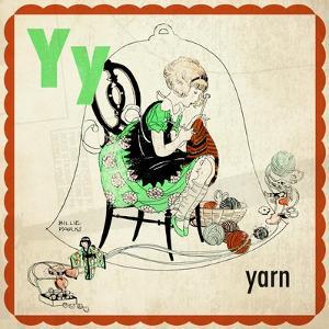 Vintage ABC- Y