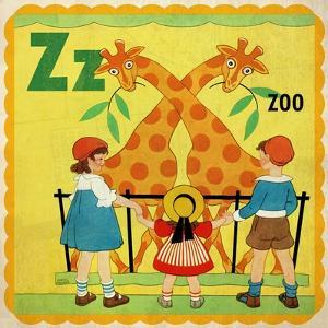 Vintage ABC- Z