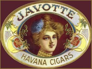 Vintage Adv Javotte Havana Cigars