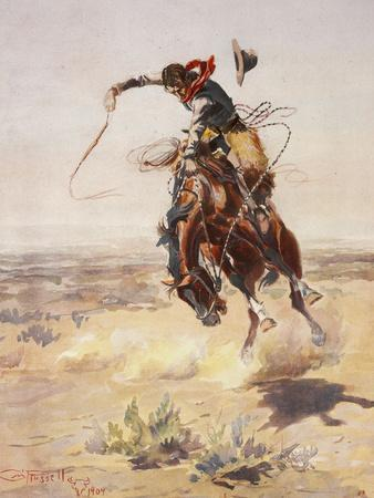 Charles Marion Russell - a Bad Hoss