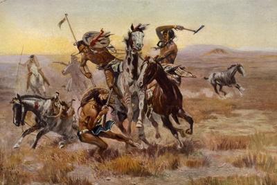 Charles Marion Russell - Souix Blackfeet