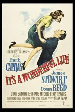 Its A Wonderful Life by Vintage Apple Collection