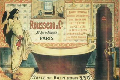 Salle De Bain (2) by Vintage Apple Collection