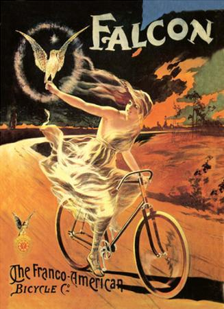 Vintage Bicycle Poster, Falcon