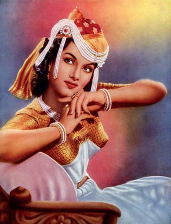 Vintage Bollywood Star, Shyama