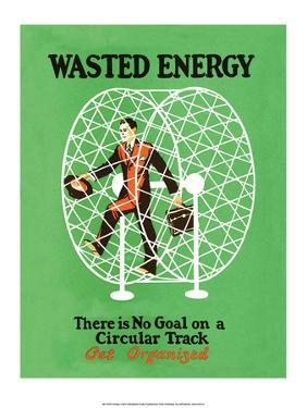 Vintage Business Wasted Energy - Get Organized
