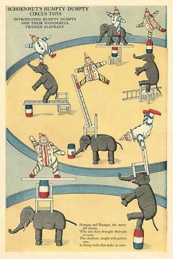 Vintage Circus Toys