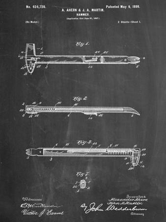 Vintage Claw Hammer Patent 1899
