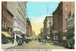 Vintage Downtown Baltimore