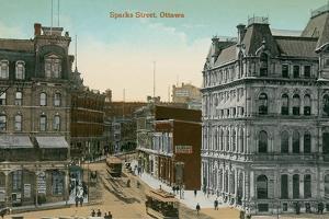 Vintage Downtown Ottawa, Canada