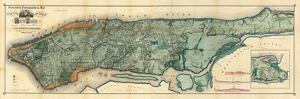 City And Island Of Ny 1865 by Vintage Lavoie