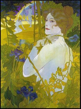 De Feure La Femme a L'iris by Vintage Lavoie