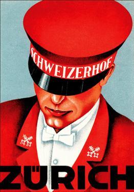 Hotel Schweizerhof Zurich Switzerland? by Vintage Lavoie