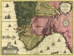 Map Of Norway by Vintage Lavoie