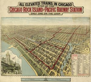 The Chicago El 1897 by Vintage Lavoie