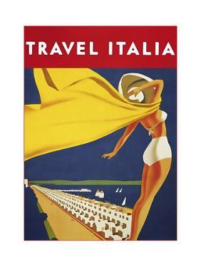 Travel 0144 by Vintage Lavoie