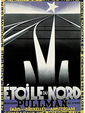 Travel Rail 0021 by Vintage Lavoie