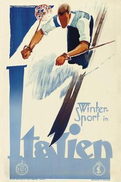 Winter Sport in Italien by Vintage Lavoie