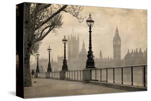 Vintage London Big Ben Thames