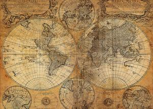 Antique map posters for sale at allposters vintage map publicscrutiny Images