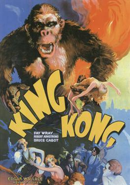 Vintage Movie Poster - King Kong