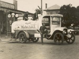Vintage Petrol Tanker in New South Wales, Australia