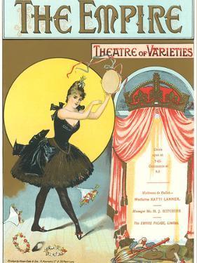 Vintage Playbill Foir Empire Theatre