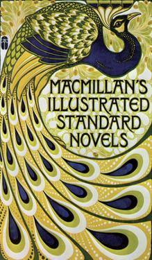 Vintage Poster Advertising Macmillan's Novels