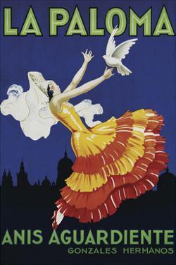 La Paloma by Vintage Poster