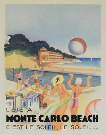 Monte Carlo Beach, 1931