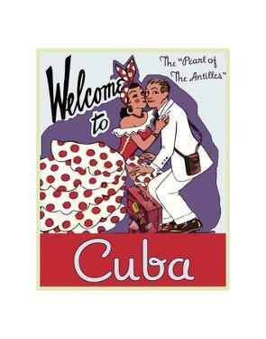 Welcome to Cuba by Vintage Poster