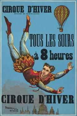 Cirque d'hiver by Vintage Reproduction
