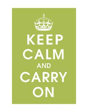 Keep Calm (kiwi) by Vintage Reproduction