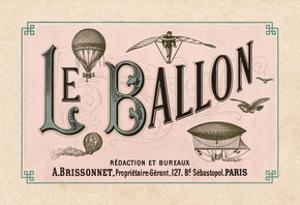 Le Ballon, ca. 1883 by Vintage Reproduction