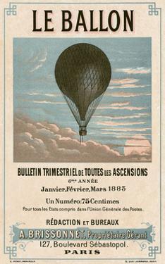 Le Ballon, Paris by Vintage Reproduction
