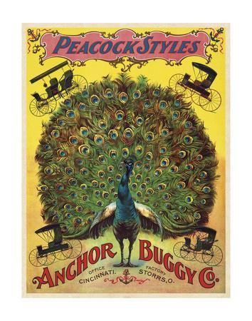 Peacock Styles Anchor Buggy Co. ca. 1897