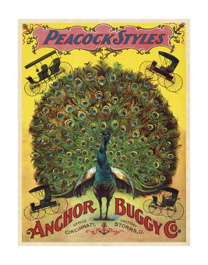 Peacock Styles Anchor Buggy Co. ca. 1897 by Vintage Reproduction