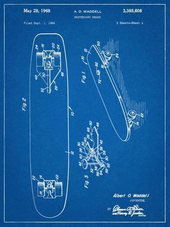 Vintage Skateboard Patent