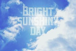 Bright Sunshiney Day by Vintage Skies