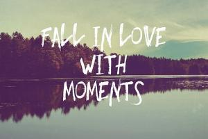 Fall in Love with Moments by Vintage Skies